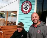 The Pawfee Shop partners, Marcelo Cruz and Jeff Garvais, are delighted with how theyve turned a once-abandoned property into a neighborhood destination. (Phill Colombo)