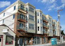 Beaumont Village Apartments on Northeast Fremont Street between 44th shortly before opening 30 remaining apartments for rent.