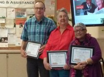 HOLLYWOOD SENIOR CENTER: Senior center honors volunteers