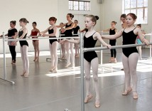 Students practice at the Northwest Dance Project. (Judy Nelson)