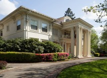 Portland's White House Bed-and-Breakfast Inn, 1914 N.E. 22nd Ave., was built in 1912, and cost $46,000 to construct. According to Roos, it's the most expensive dwelling (adjusted for inflation), built in Irvington. The colonial-revival styled mansion was restored twenty years ago by owner Lanning Blanks. Listed on the National Register of Historic Places,