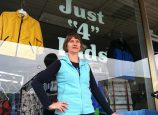 Dawn Ades, owner of Just 4 Kids in Northeast Portland's Hollywood District, will celebrate 20 years of business in the neighborhood this month. (Jane Perkins)