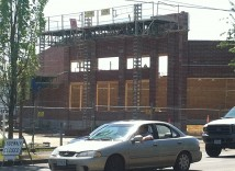 Walgreen's Sandy Boulevard construction continues in Roseway