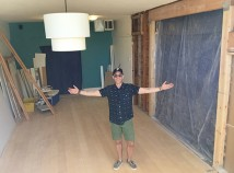 Nate Snell is expanding the seating area for his Beaumont Village cafe, Pip's Original Doughnuts, into the space next door, formerly occupied by Mother of Pearl children's consignment shop. (Nate Snell)