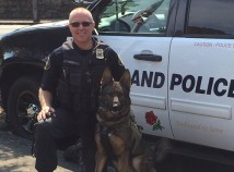 Shawn Gore and Jasco are members of the Portland Police K-9 Unit. (Jeff Dorn)