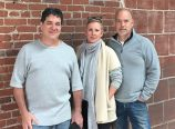 Bruce Silverman, left, Kaie Wellman and Kevin de Garmo. (Providore Fine Foods)
