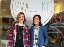 Elle Poindexter, left, and Vanessa Curry have taken the helm at Smallfry, the children's resale shop across the street from the Hollywood branch library. (Ted Perkins)