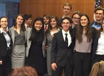 Members of the Grant High School Constitution Team. (Elaine Chan)
