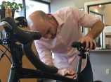 Matt Flood, with Broadway Physical Therapy and Sports Rehabilitation, recently earned his Clinical BikeFit Professional Certification. (Broadway Physical Therapy and Sports Rehabilitation)