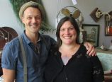 Business partners James 'Blest' Weter, left, and Sarah King have opened a housewares and home decor store called PDX Gold Dust in the Alberta Arts district. (Ted Perkins)