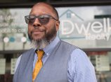 Chris Guinn of Dwell Realty was a featured speaker at a lunch event for Meractus Collective, a new website that tells the stories of local entrepreneurs of color.