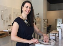 Katy Kippen has moved Grayling Jewelry from the Bindery Building in the Kerns neighborhood to the Alberta Arts district. (Grayling Jewelry)
