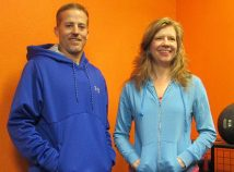 Rose City Park neighbors Jason Thomas and Kristin Spurkland have opened a new fitness center called Upside Fitness at 4500 N.E. Sandy Boulevard in the former home of Jackson's Flowers.  (Jane Perkins)